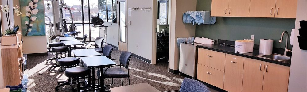 A view of a therapy room at Hand Therapy Advantage.